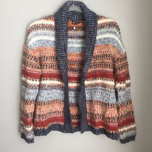 Anthropologie | Knitted & Knotted Open Cardigan XS